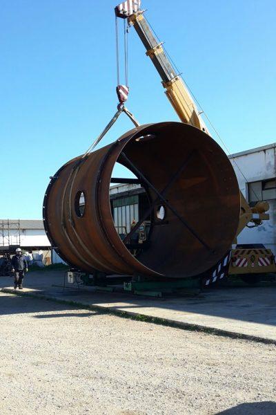 Sollevamento carico eccezionale - Logistica Essetti
