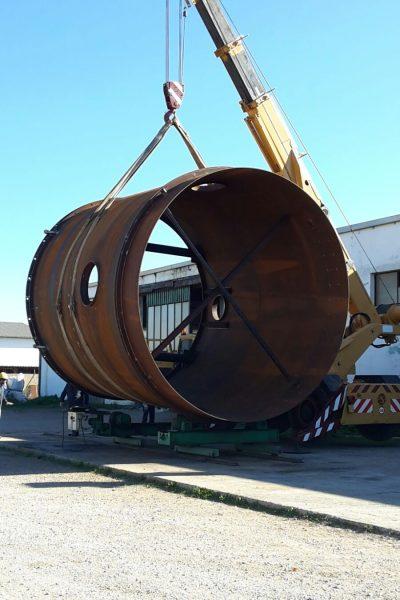 Sollevamento carico eccezionale 2 - Logistica Essetti