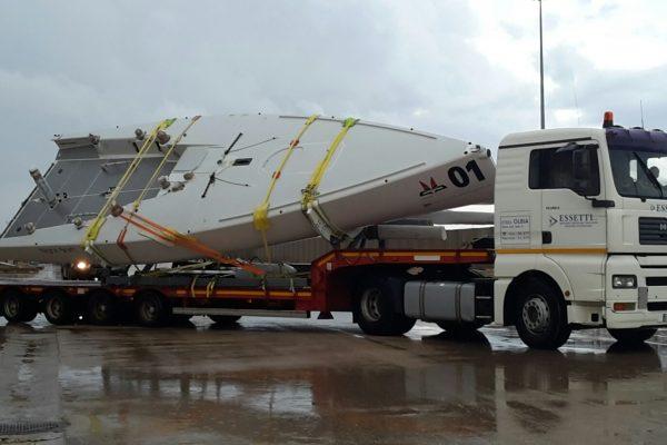 Logistica Essetti - Trasporto Barche Sardegna