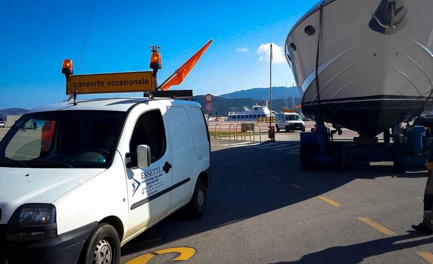 Logistica Essetti - Servizio Scorte tecniche in Sardegna