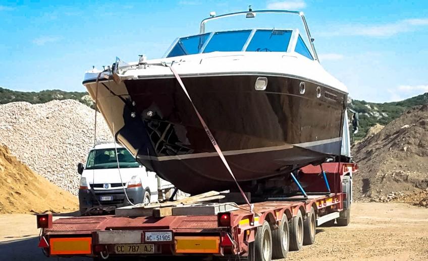 Logistica Essetti - Noleggio Autogrù Sardegna - Servizio di trasporto Barche